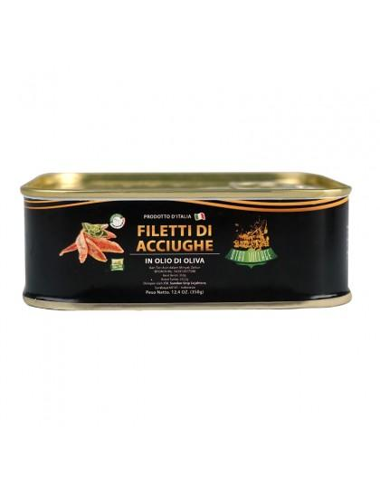 Star Village Anchovy Fillets 350gr Inter Buana Mandiri