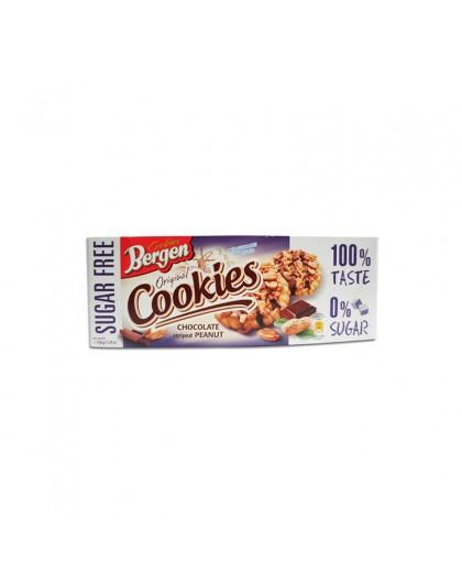 Bergen Sugar Free - Chocolate Striped Peanut Cookies Inter Buana Mandiri