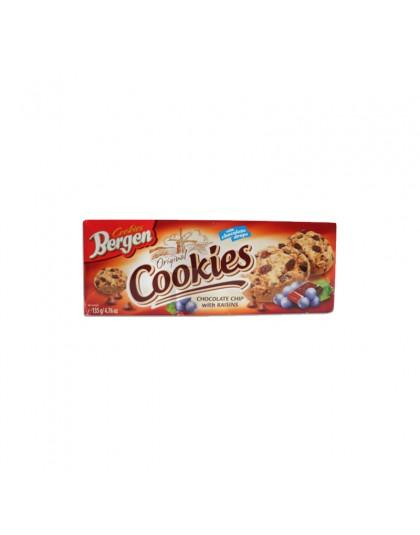 Bergen Chocolate Chip with Raisins Cookies Inter Buana Mandiri