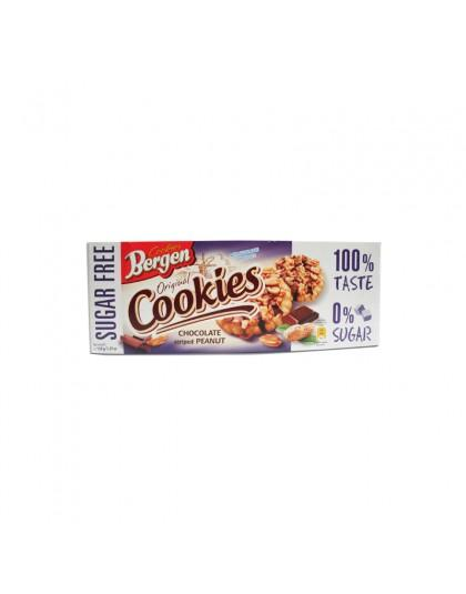Bergen Chocolate Striped Peanut Cookies Inter Buana Mandiri