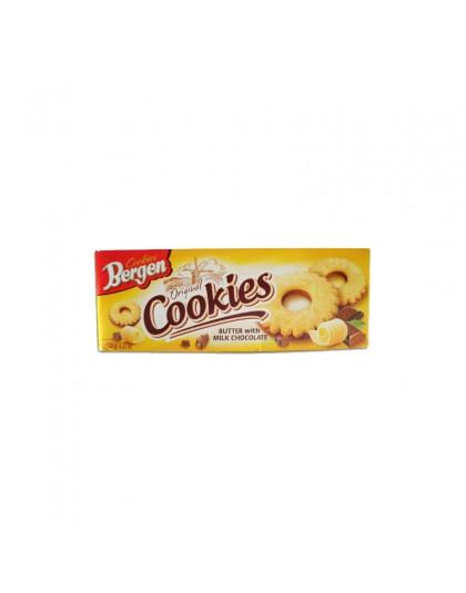 Bergen Butter Cookies With Milk Chocolate Inter Buana Mandiri