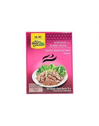 Asian Home Gourmet Korean Barbecue Meat Bulgogi Inter Buana Mandiri