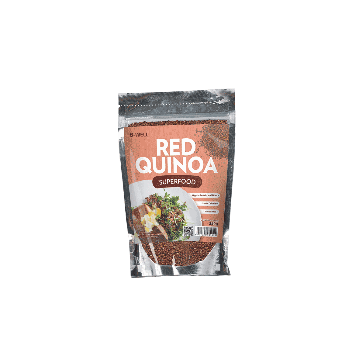 B-Well Red Quinoa Superfood Inter Buana Mandiri