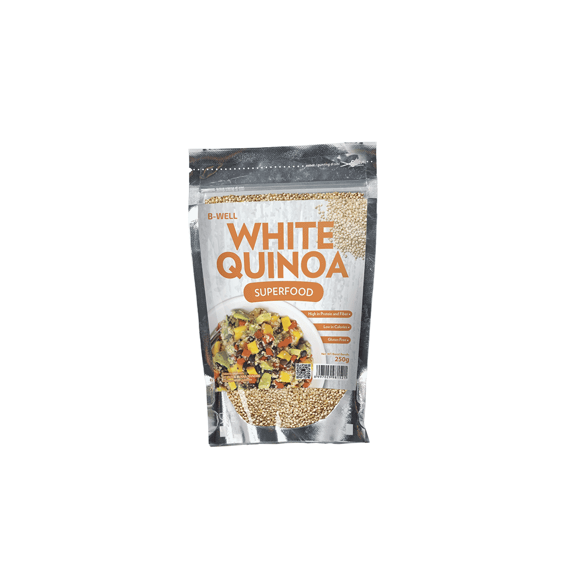 B-Well White Quinoa Superfood Inter Buana Mandiri